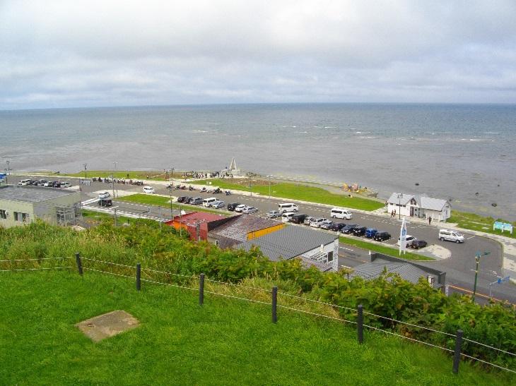 高台から見る景色は絶景!